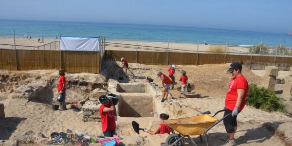 Excavaciones en la factoria de salazones romana de Baelo Claudia (2015)