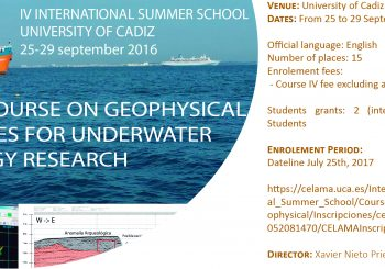 PRACTICAL COURSE TO GEOPHYSICAL TECHNOLOGIES FOR UNDERWATER ARCHAEOLOGY RESEARCH