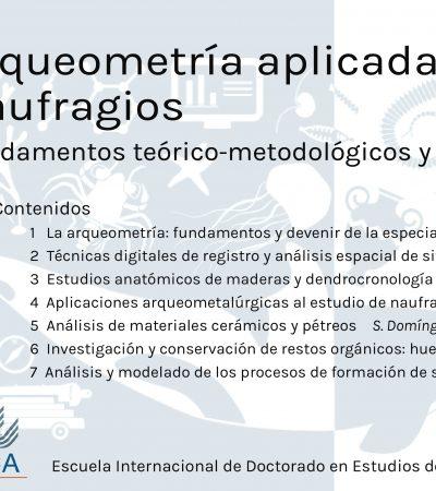 Curso de postgrado: Arqueometría aplicada al estudio de naufragios: fundamentos teórico‐metodológicos y líneas de investigación